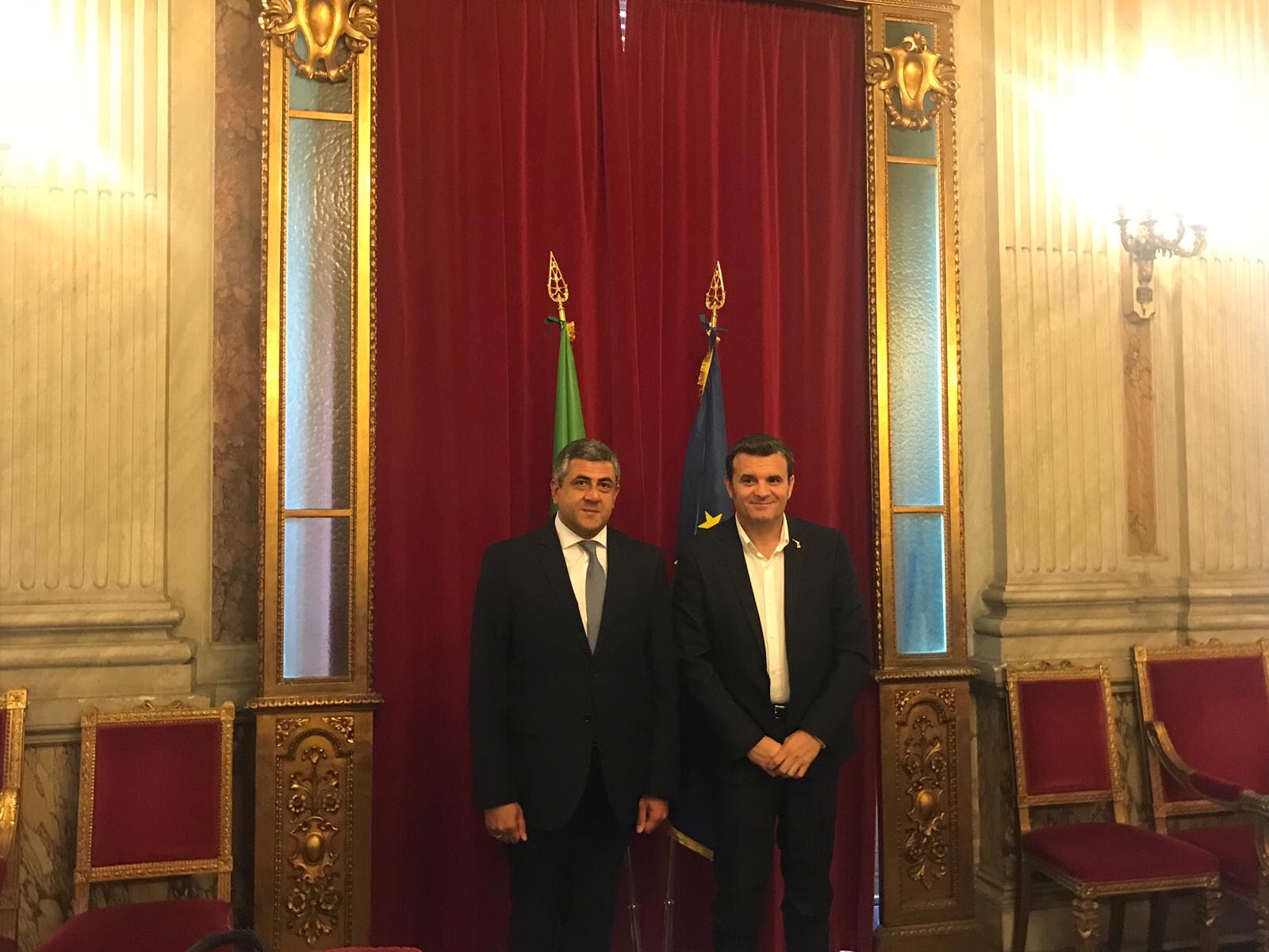 UNWTO Secretary-General embarks on official visit to Italy