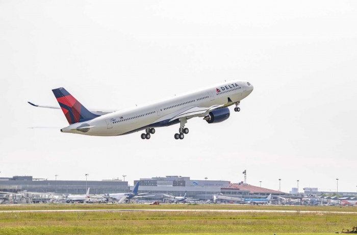 Delta welcomes first Airbus first A330-900 to fleet