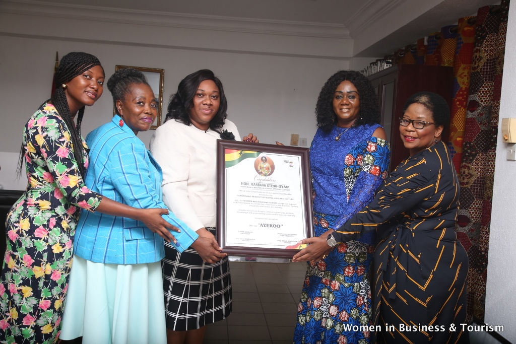 Ghana: Women in Business and Tourism call on Minister for Tourism, Arts and Culture