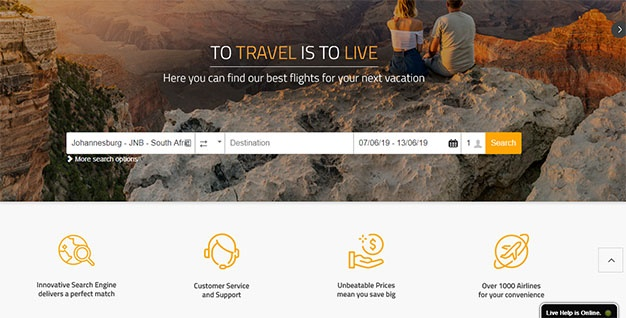 Online travel agency Travelcheck launches in South Africa