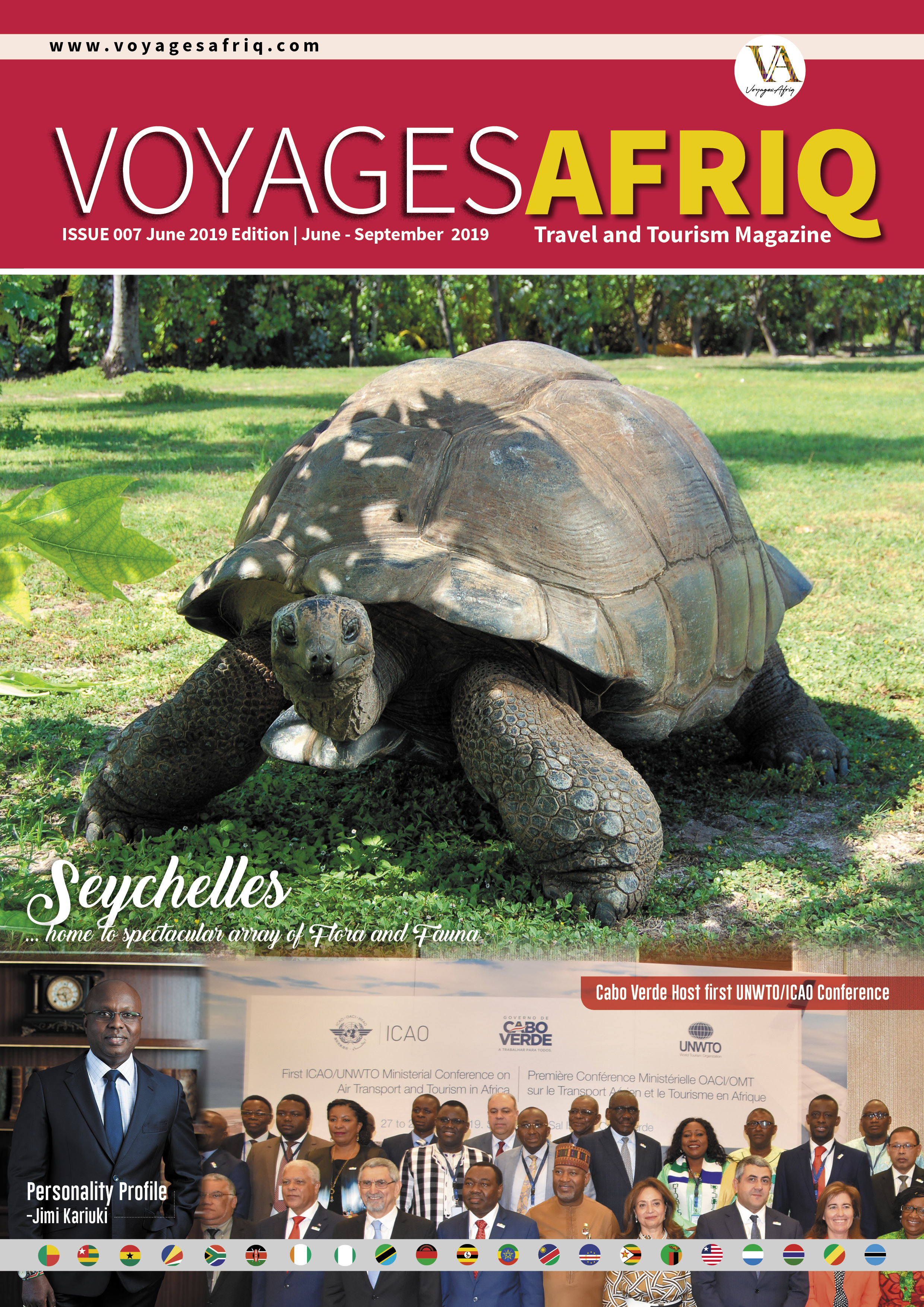 Eighth edition of VoyagesAfriq Travel Magazine out with exclusive contents