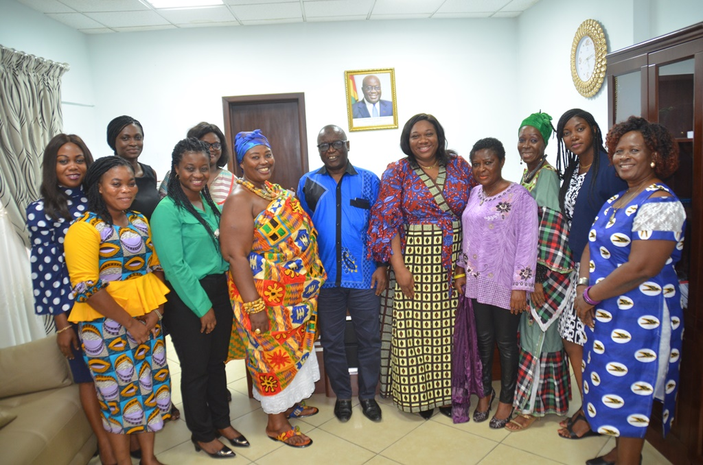 Women in Business and Tourism visit Business Development Ministry