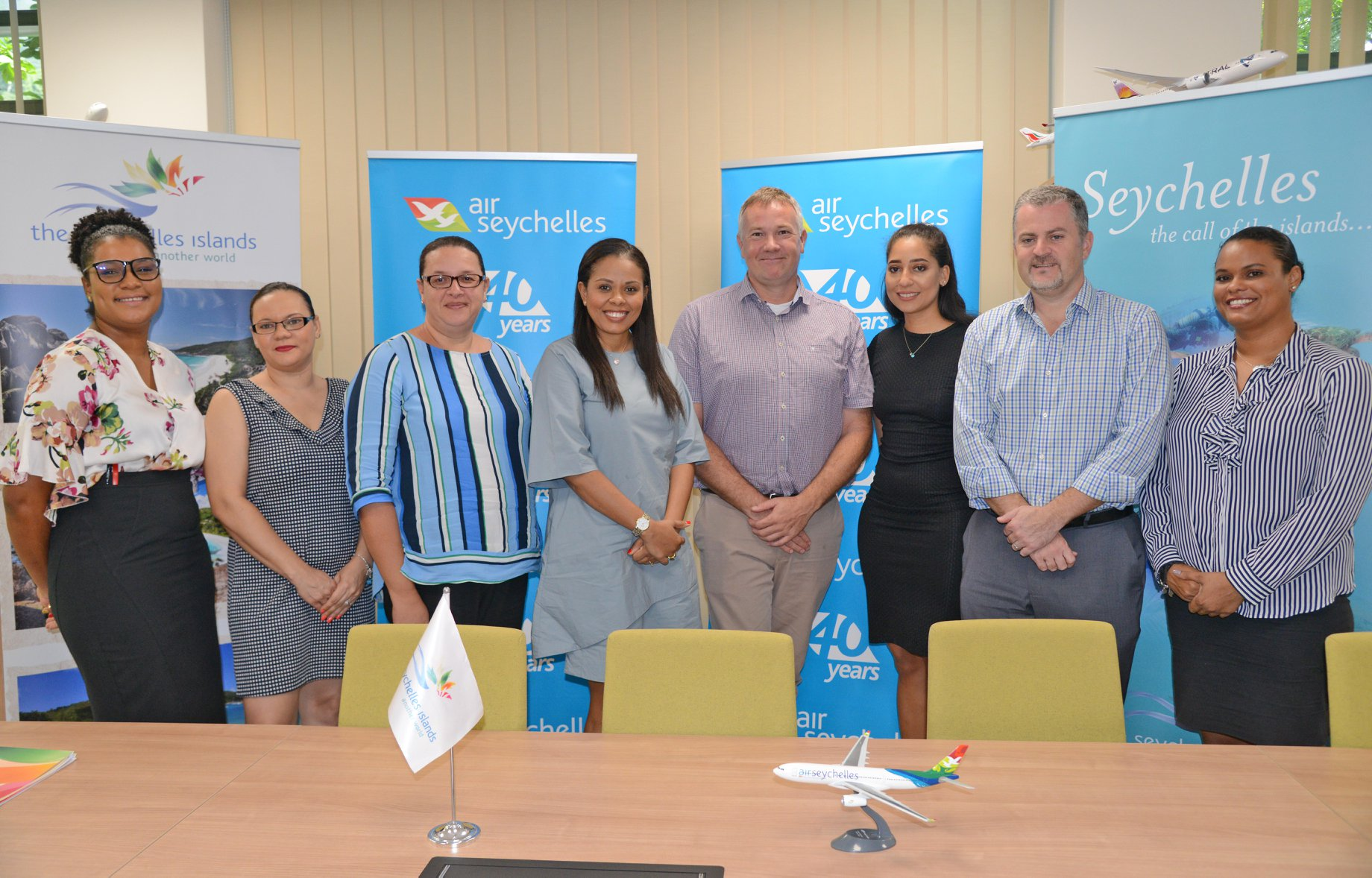 Seychelles Tourism Board and Air Seychelles renew marketing agreements