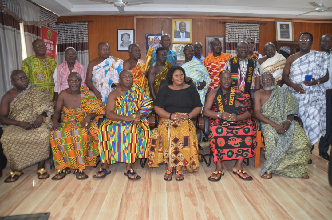 Brong leaders in Côte d'Ivoire calls on Brong Ahafo Regional Minister in Ghana