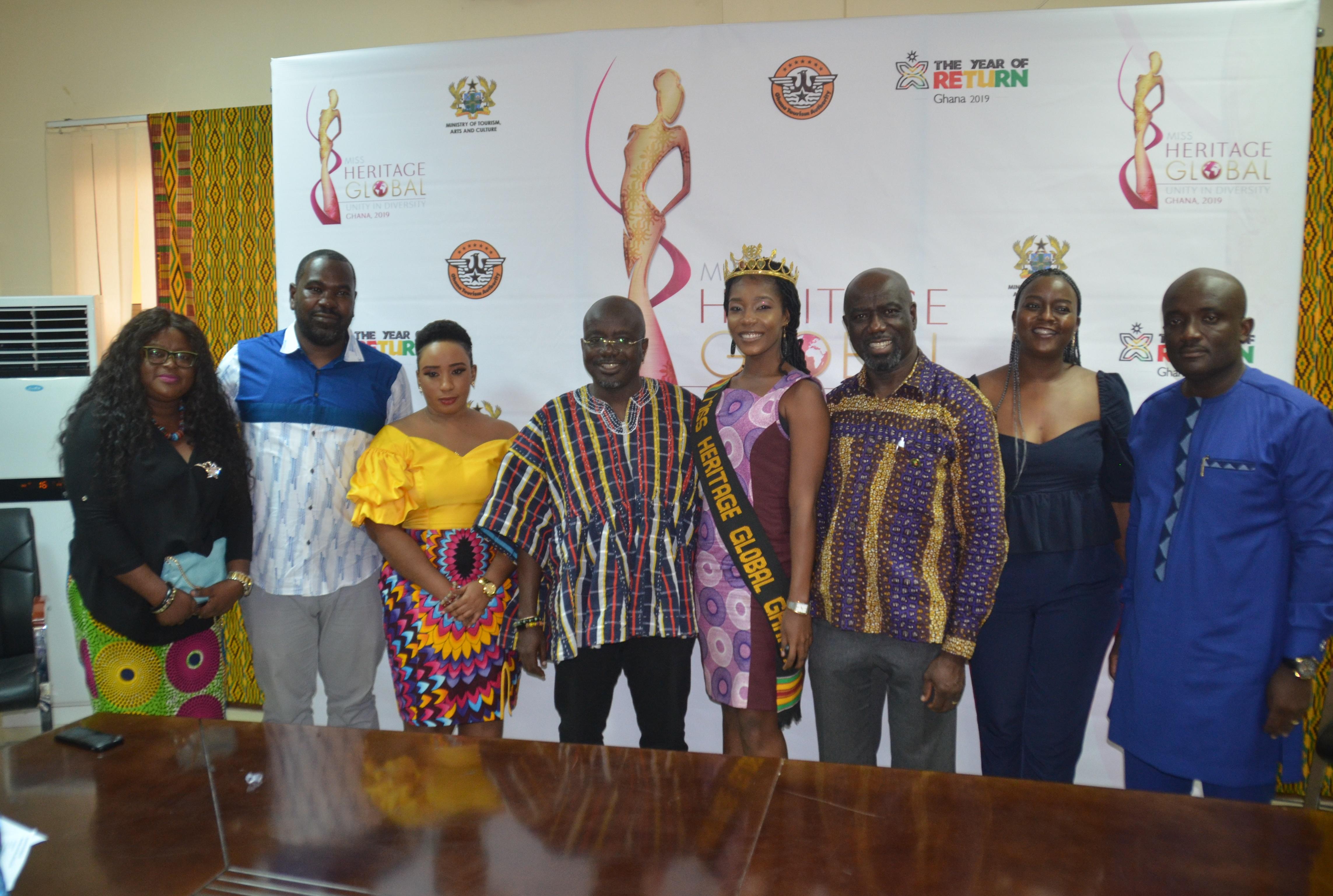 Year of Return:  Ghana hosts Miss Heritage Global 2019 on August 20