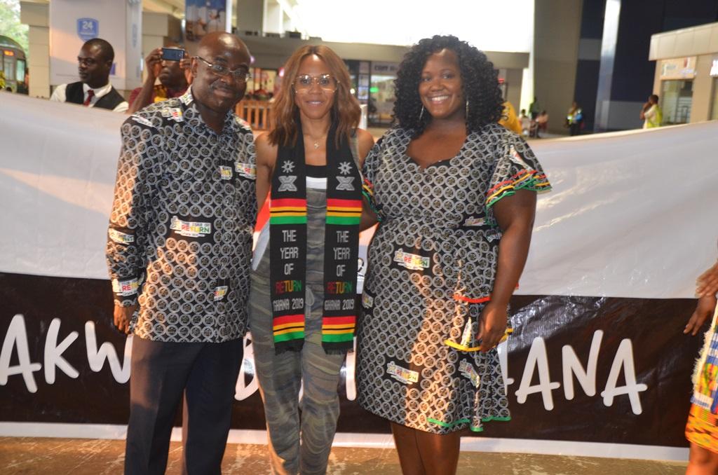 Year of Return: Deborah Cox arrives in Ghana for World Music Festival