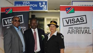 Namibia introduces visas on arrival