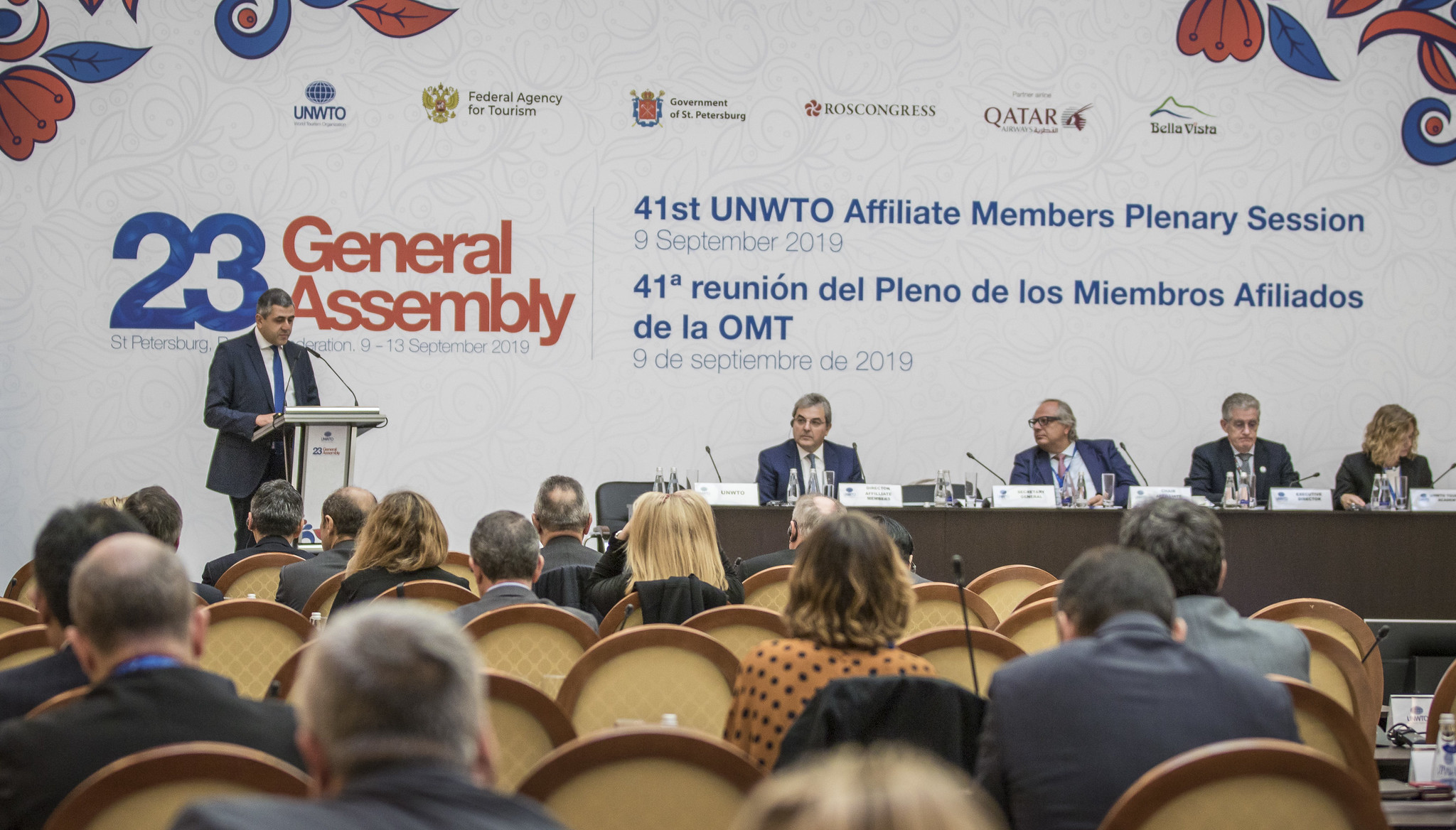 #UNWTOGA: Day one highlights at 23rd UNWTO General Assembly