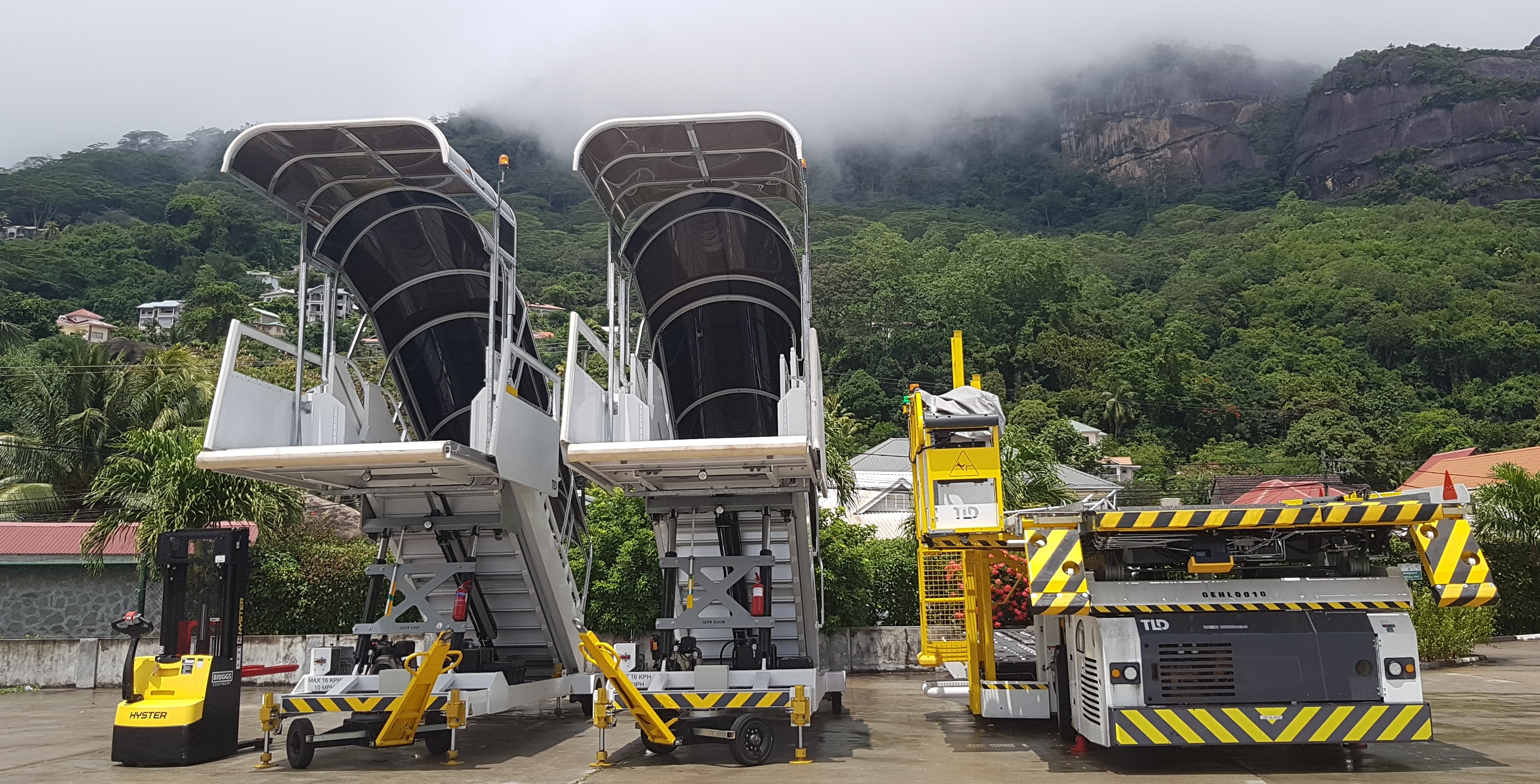 Air Seychelles invests in new equipments to support ground handling and cargo business