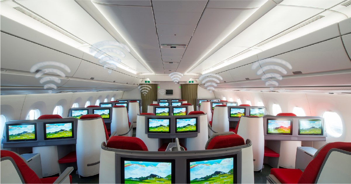 Ethiopian rolls out onboard WiFi Internet connectivity on its Airbus A350s
