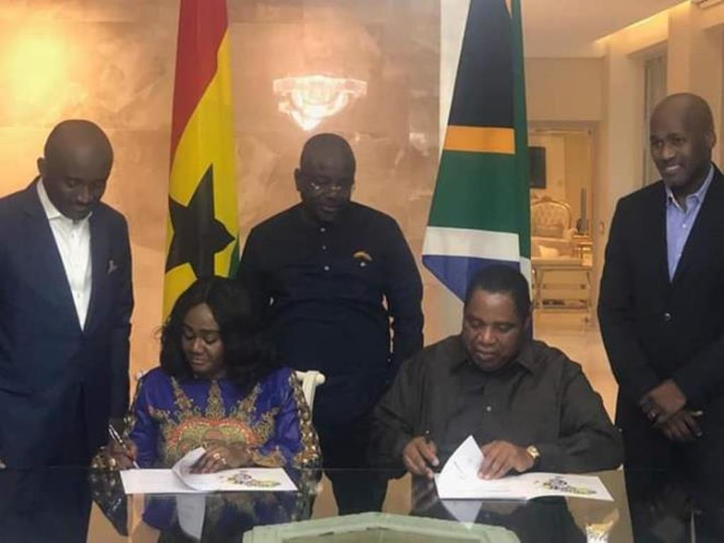 Ghana's Tourism Ministry Signs MoU with GUMA Group for various projects dev't