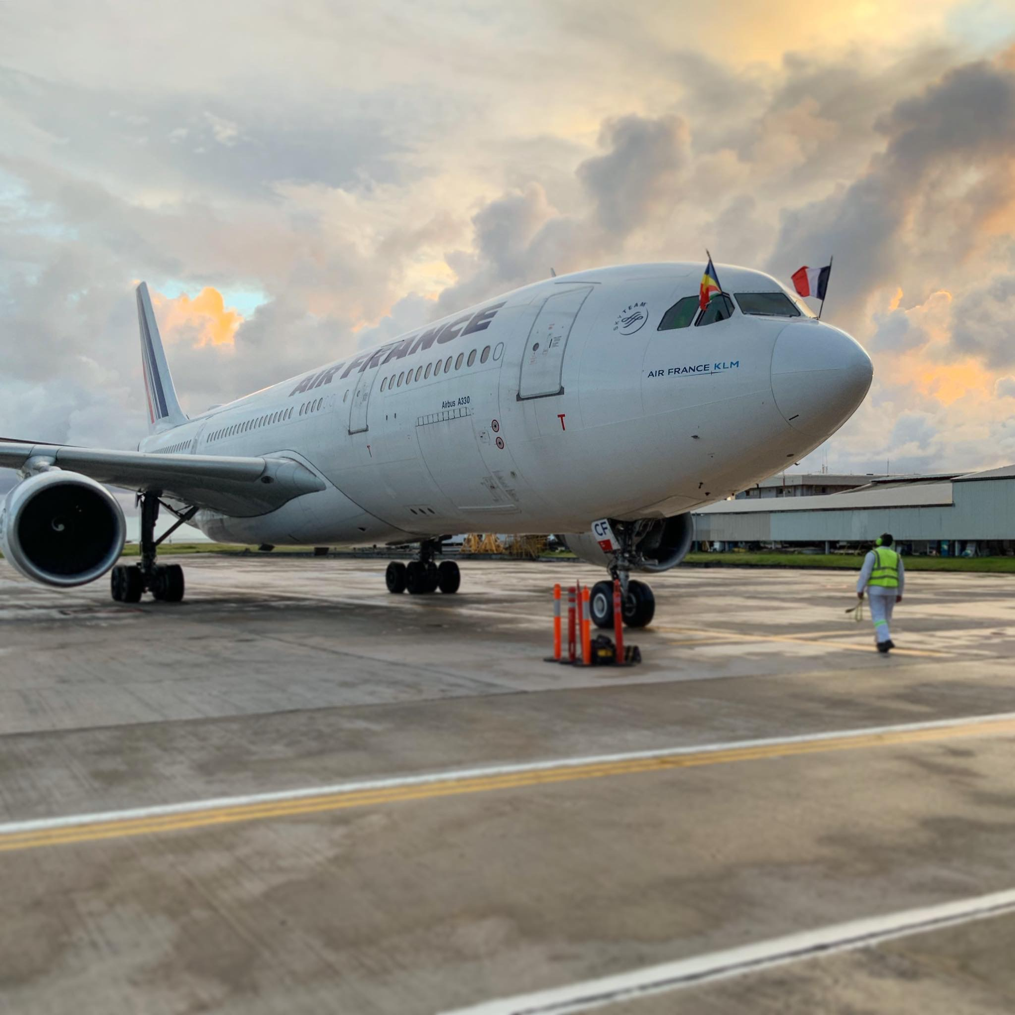 Air France returns to the Seychelles Islands