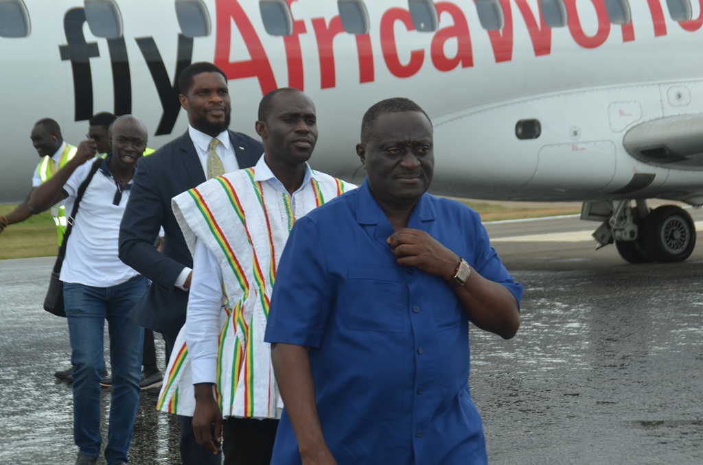 Africa World Airlines makes historic maiden flight to Wa