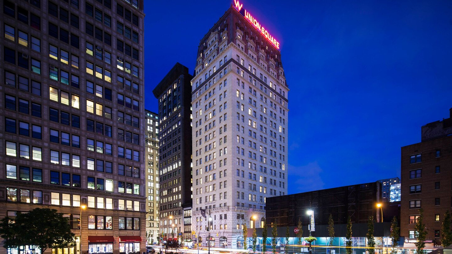 Marriott acquires W New York – Union Square in $206m deal