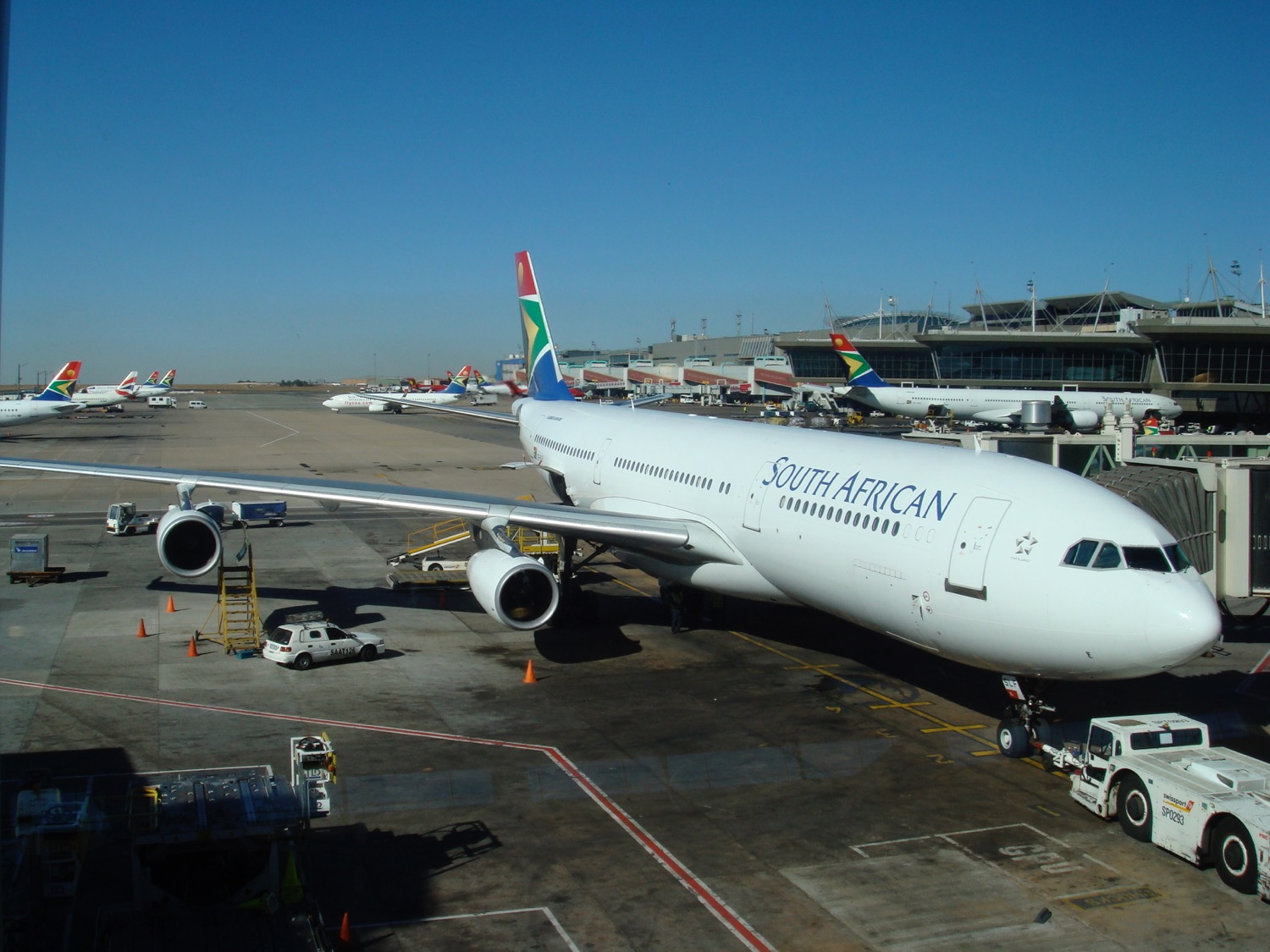 SAA resumes flight operation on International routes