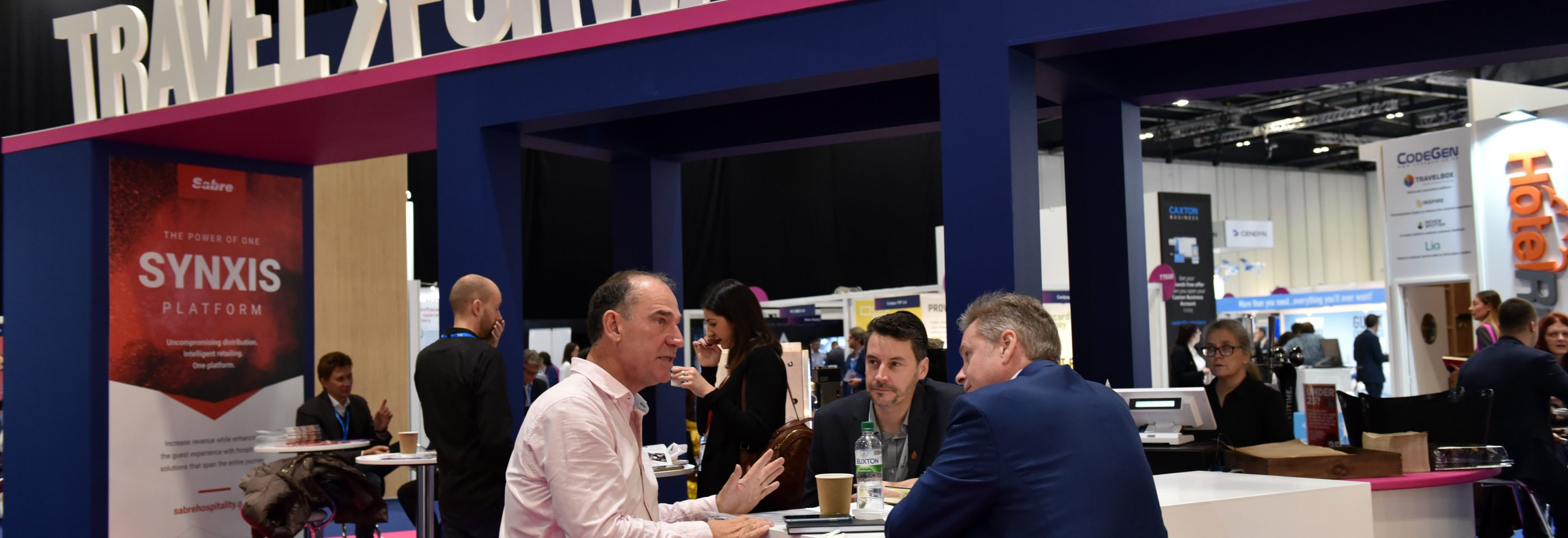 #WTMLDN:Travel Forward points to the future