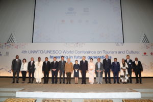 4th UNWTO/UNESCO  World Conference on Culture and Tourism highlights the future sustainability of Cultural Tourism