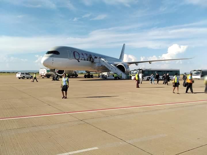 Qatar Airways lands in Botswana