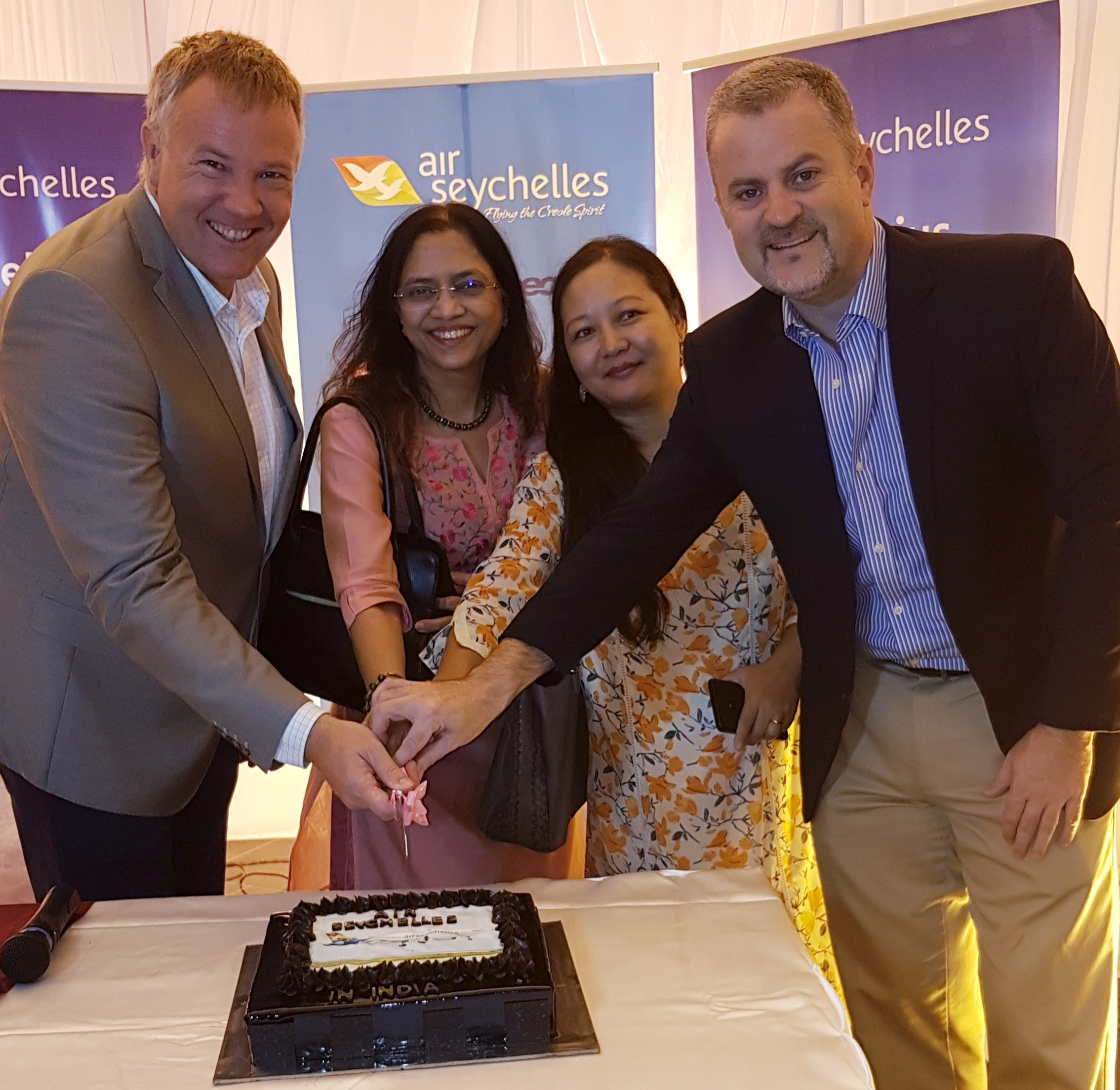 Air Seychelles marks five years in India