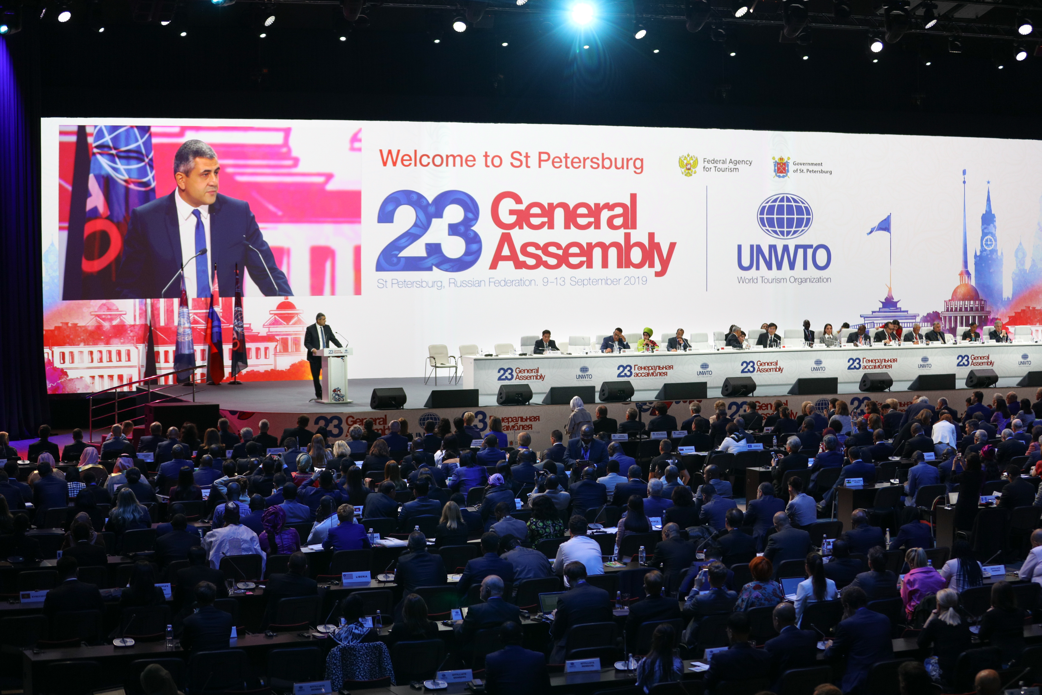 23rd UNWTO General Assembly lauds Secretary General