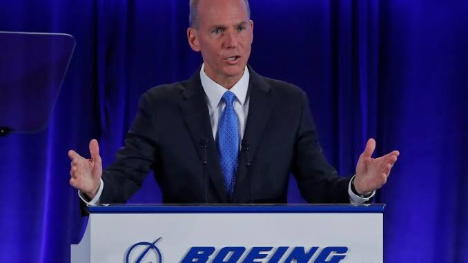 Boeing fires boss Muilenburg amid 737 troubles