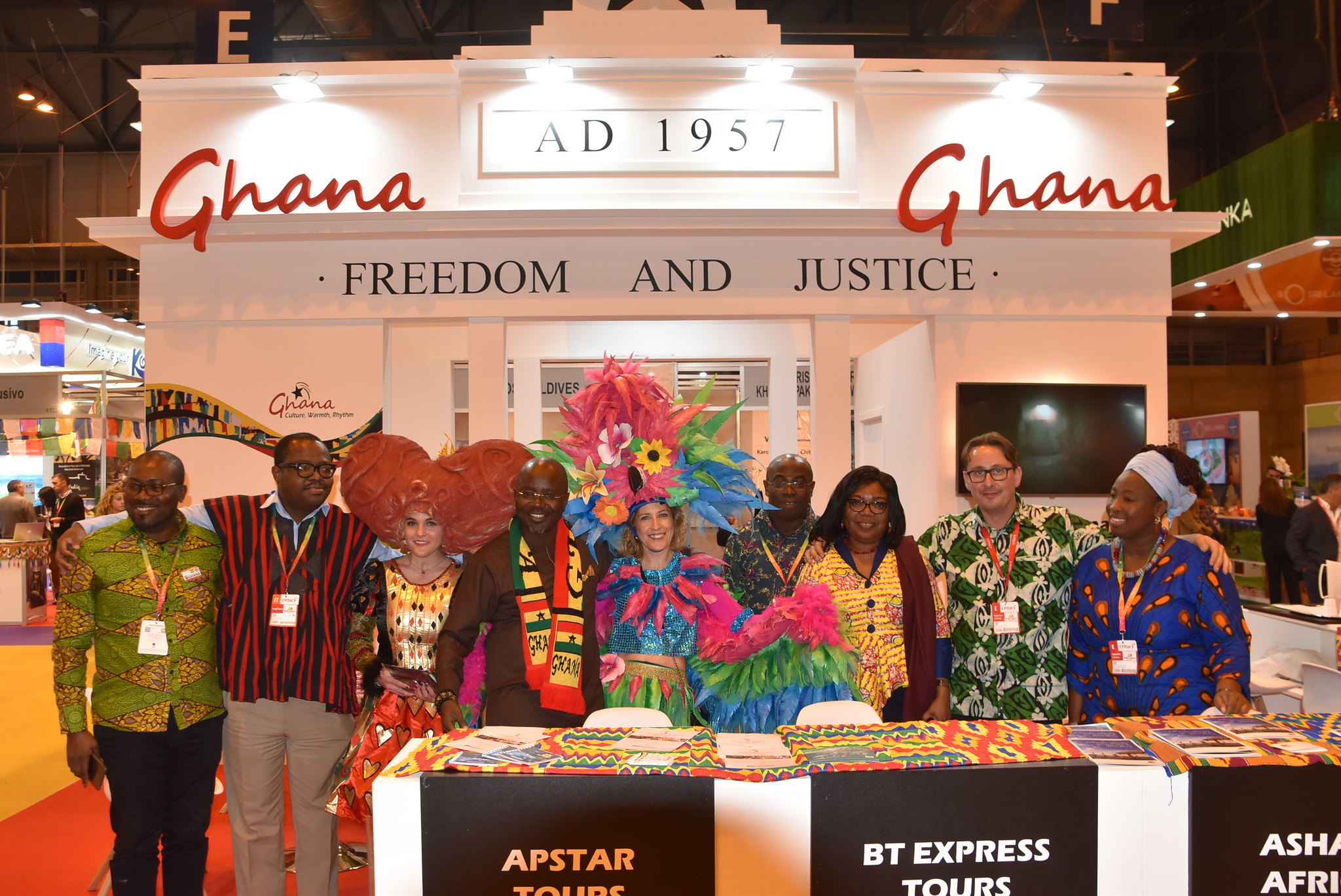 Ghana Tourism Authority set for Vakantiebuers & FITUR Travel shows