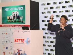 South Africa debuts at SATTE