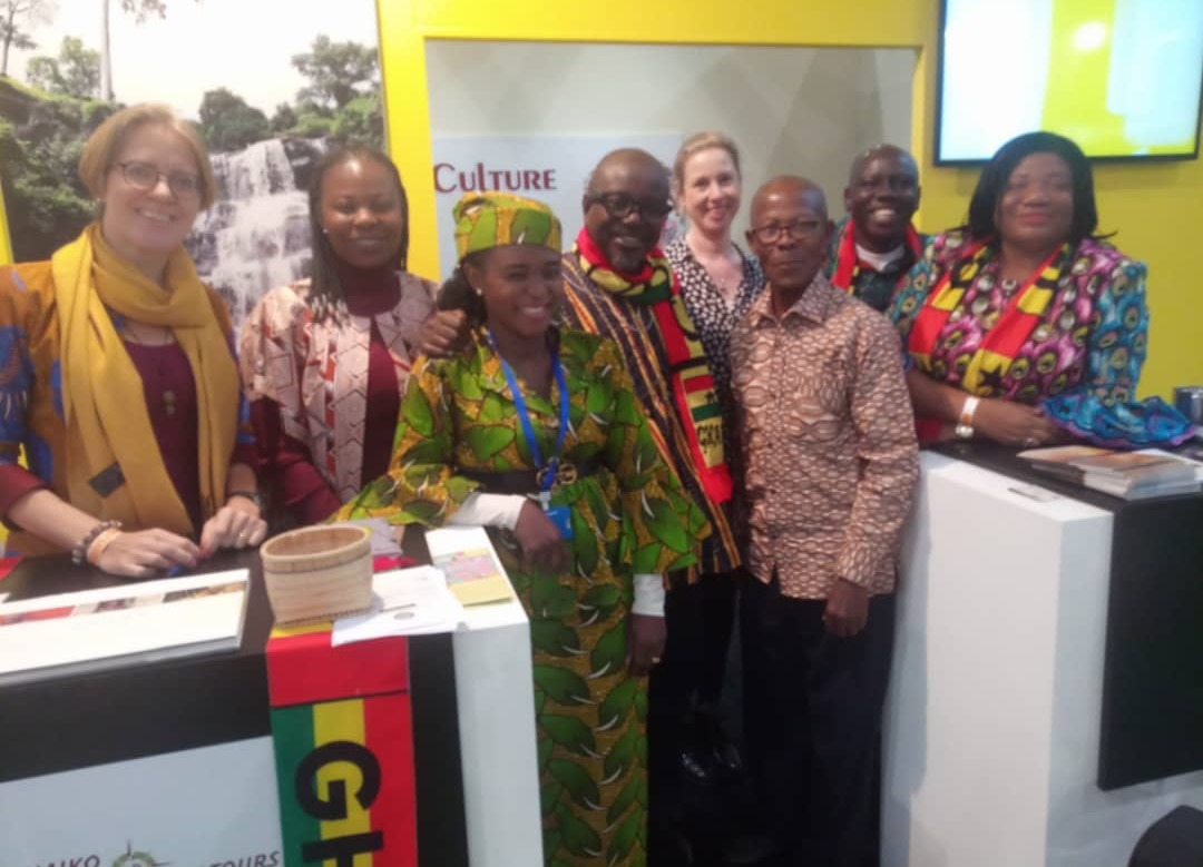 'Year of Return' draws thousands to Ghana's stand at Vakantiebeurs