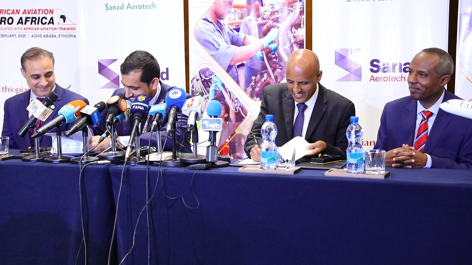 SANAD and Ethiopian Airlines signs agreement to establish MRO Centre of Excellence in Africa
