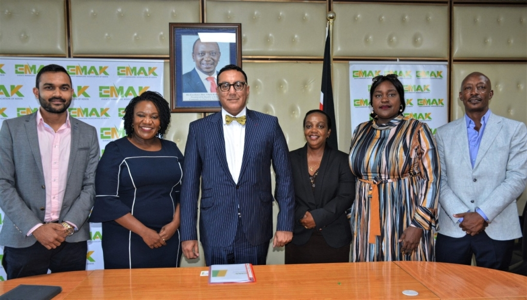 Kenya National Convention Bureau attends Meetings Africa