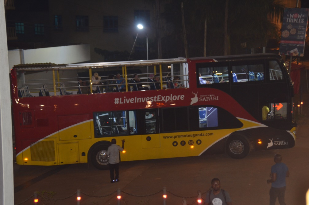 #POATE2020: A bus tour of Kampala, a city that stays awake at night