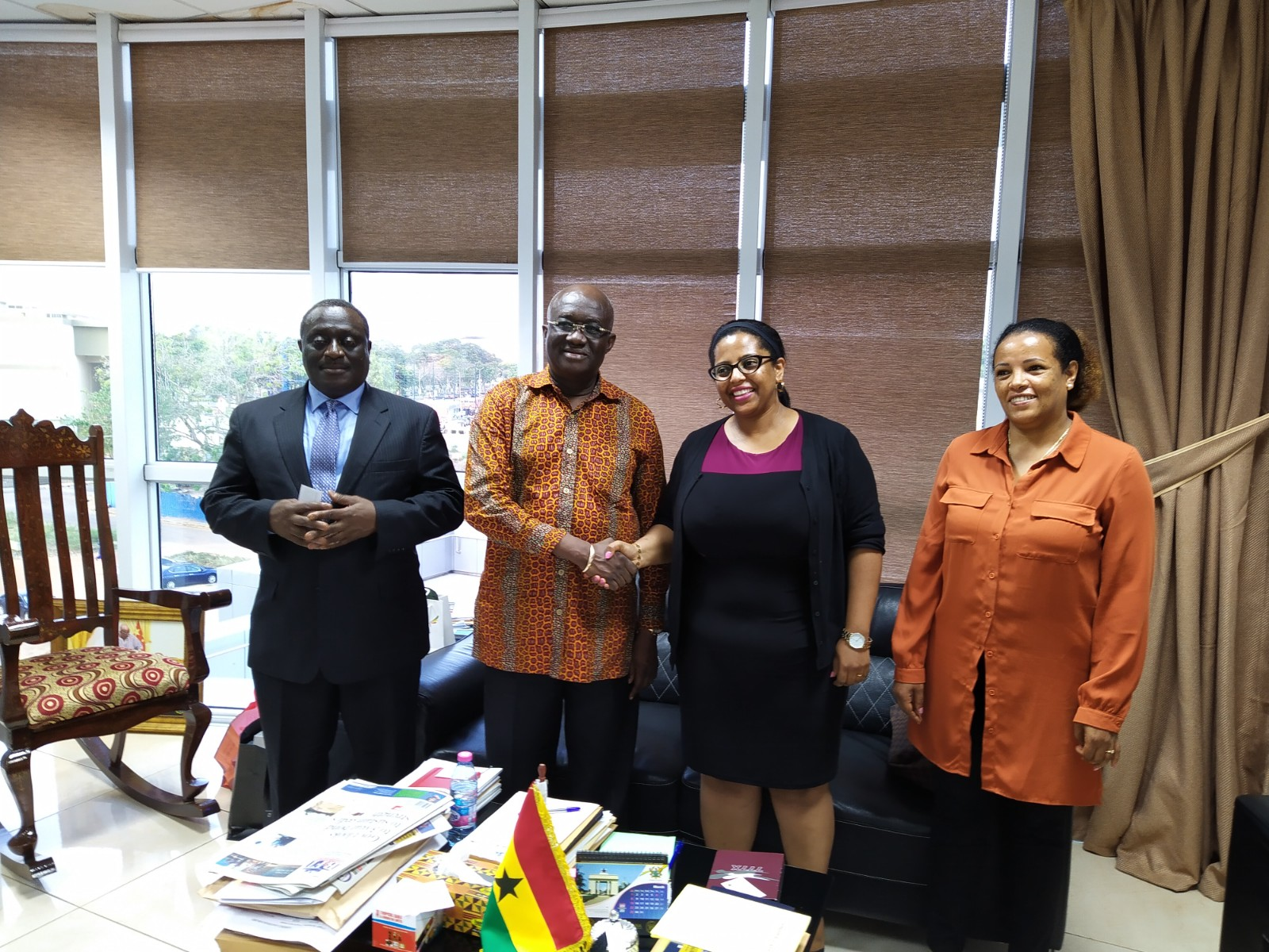 Ghana: New Ethiopian Airlines Area Manager calls on Aviation Minister