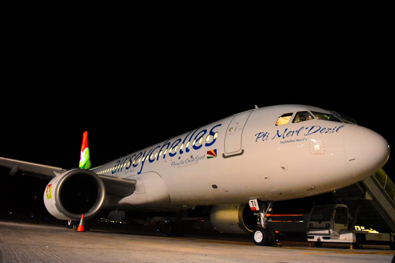 Air Seychelles takes delivery of second A320neo aircraft