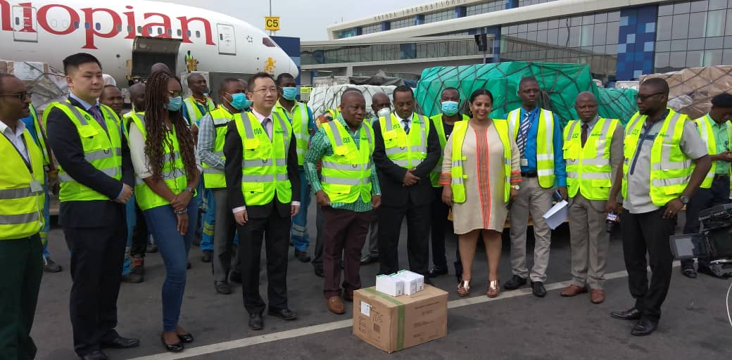 Ethiopian Airlines supports COVID-19 fight in Ghana