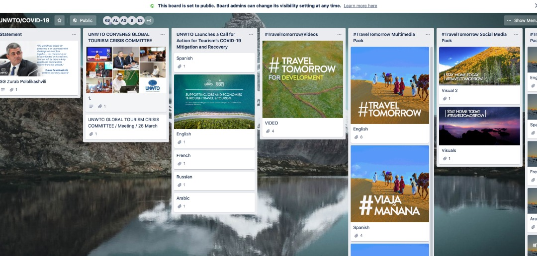 Join UNWTO's Stay Home Today, #TravelTomorrow Campaign