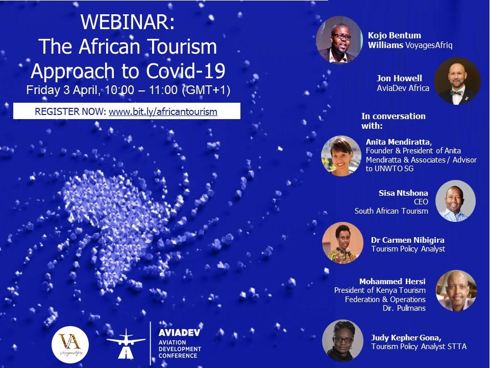 "VoyagesAfriq and AviaDev partner to produce ''TourismWebinars"""