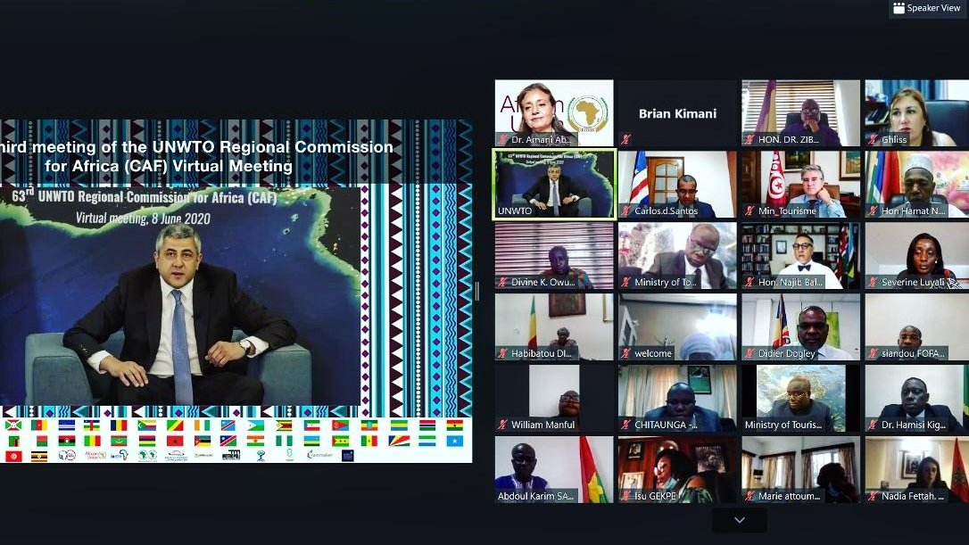 63rd UNWTO CAF Virtual Meeting  prioritizes Sustainable Future for Tourism