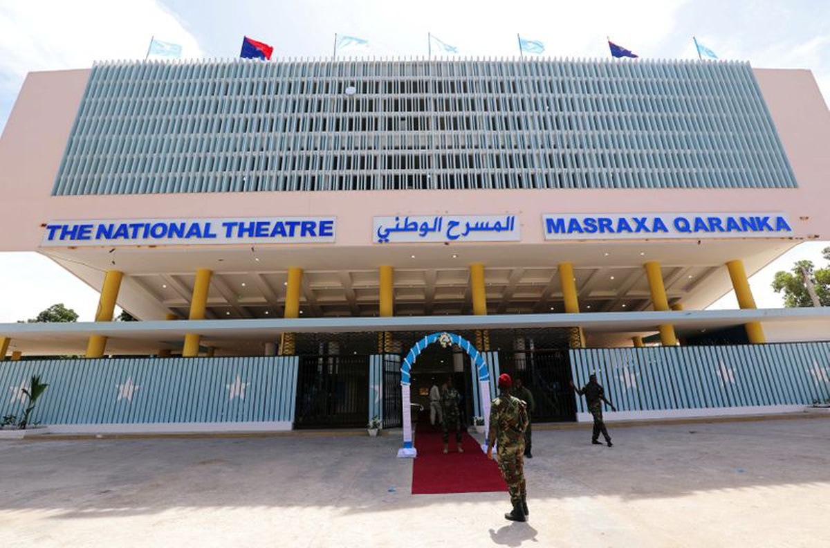 Somalia reopens national theatre eight years after bombing