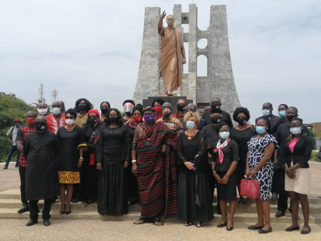 Emancipation Day 2020 wreath laying ceremonies held in Accra