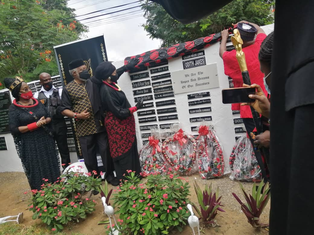 Diaspora African Forum honours Chadwick Boseman with plaque on Sankofa Memorial Wall