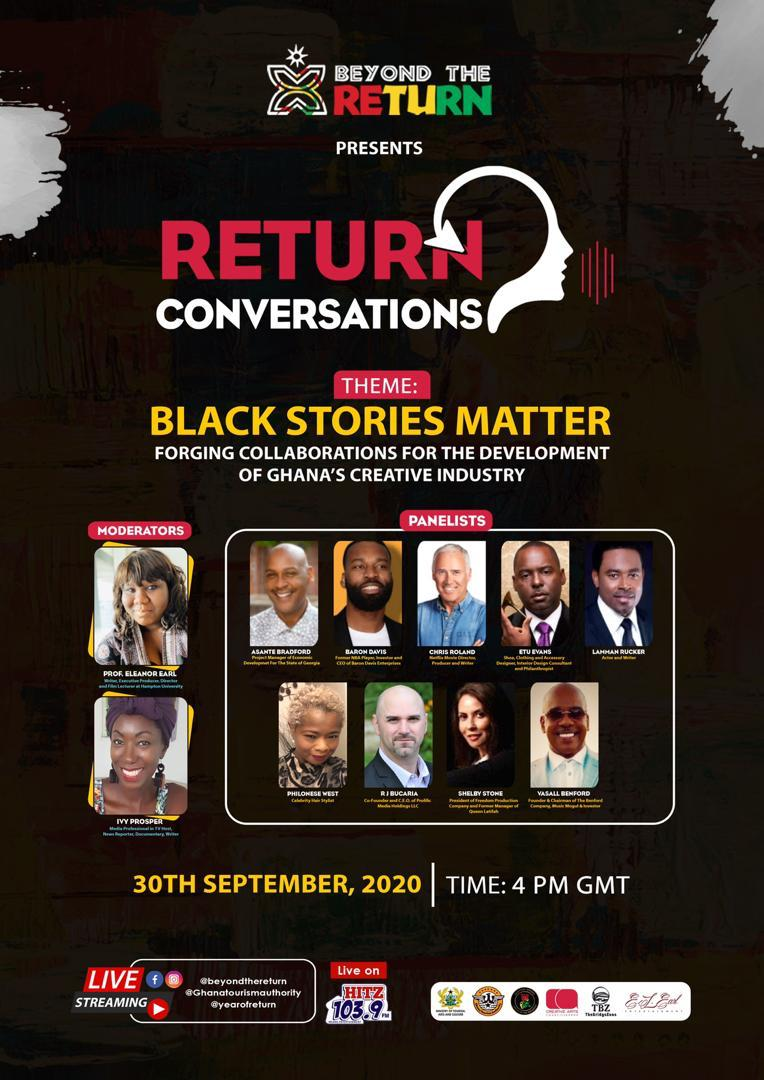 Return Conversations'  premieres with Masterclass on Creative Arts