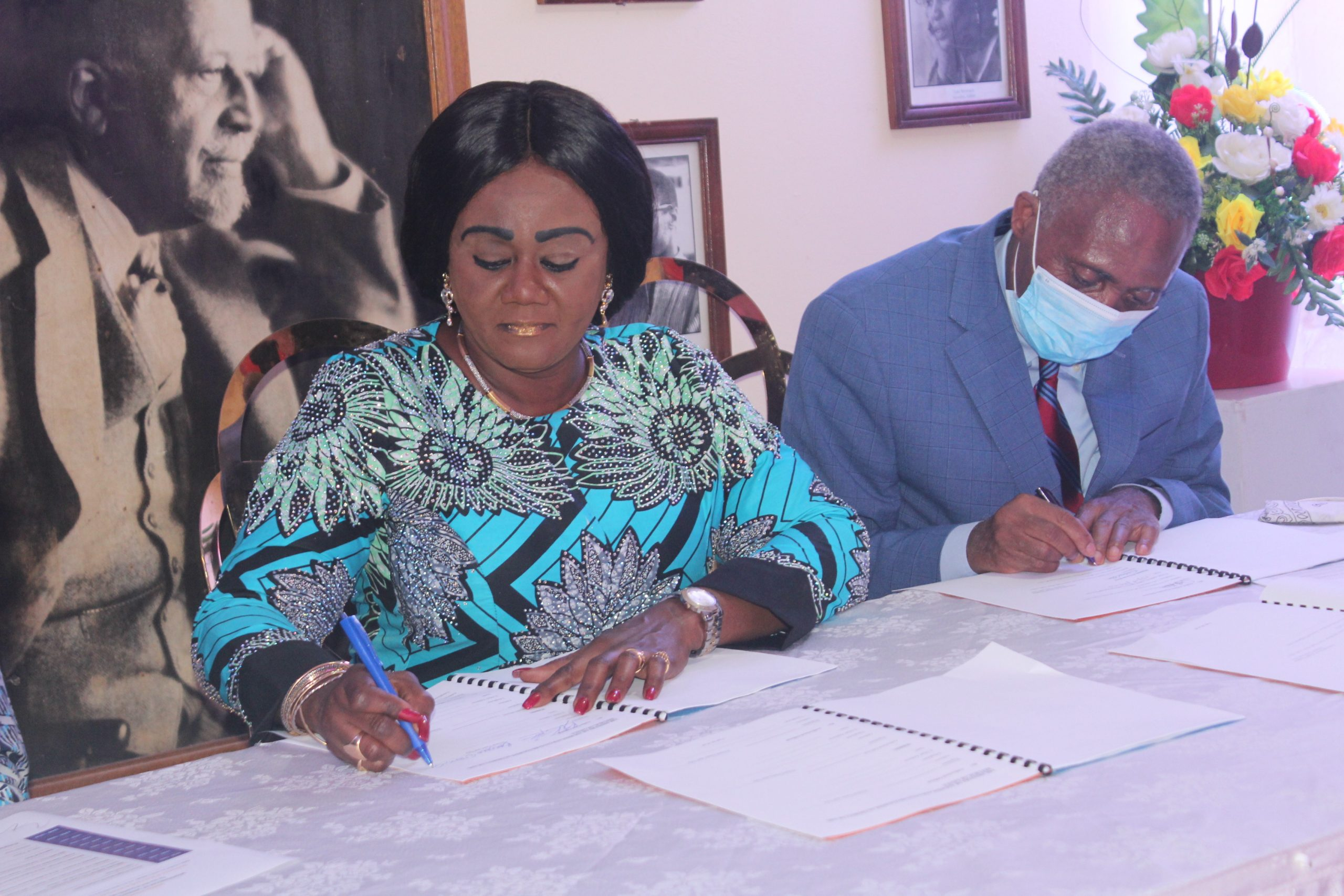 Ghana Gov't and W.E.B Dubois Museum Foundation sign MoU to build museum in honour of icon