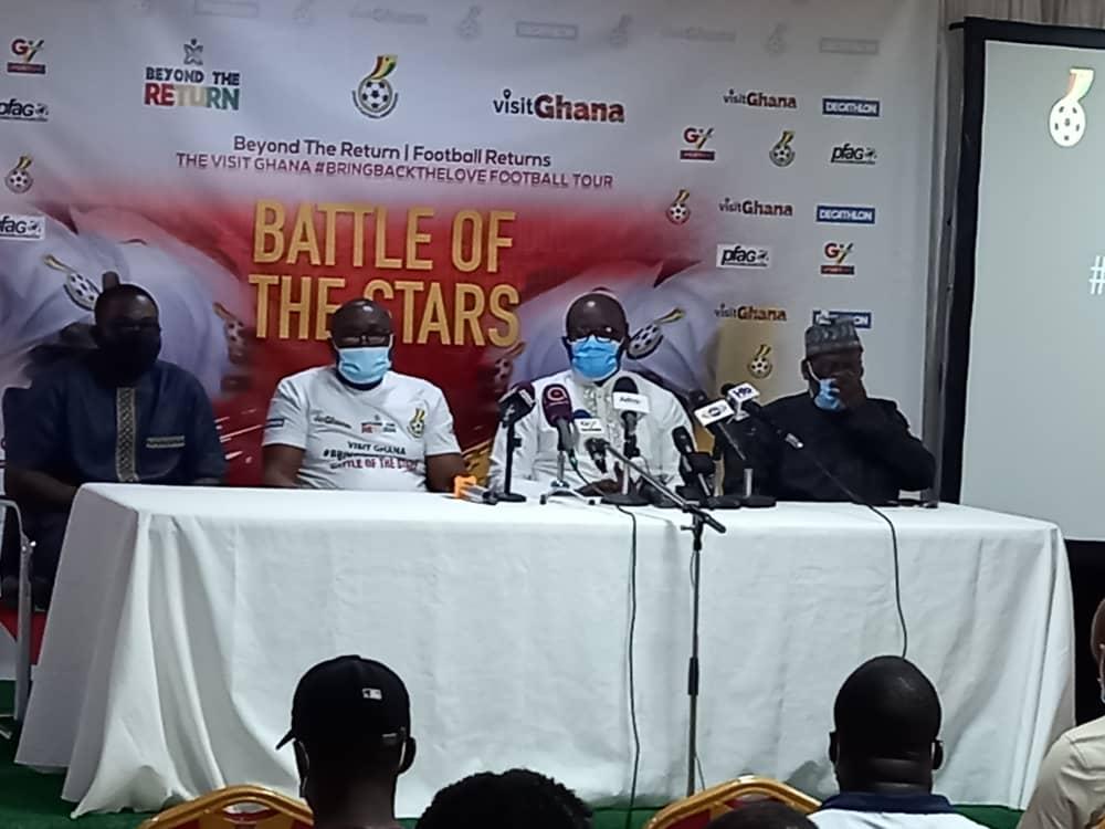 GTA, GFA and PFAG unveil 'Visit Ghana, Bring Back the Love Football Tour'