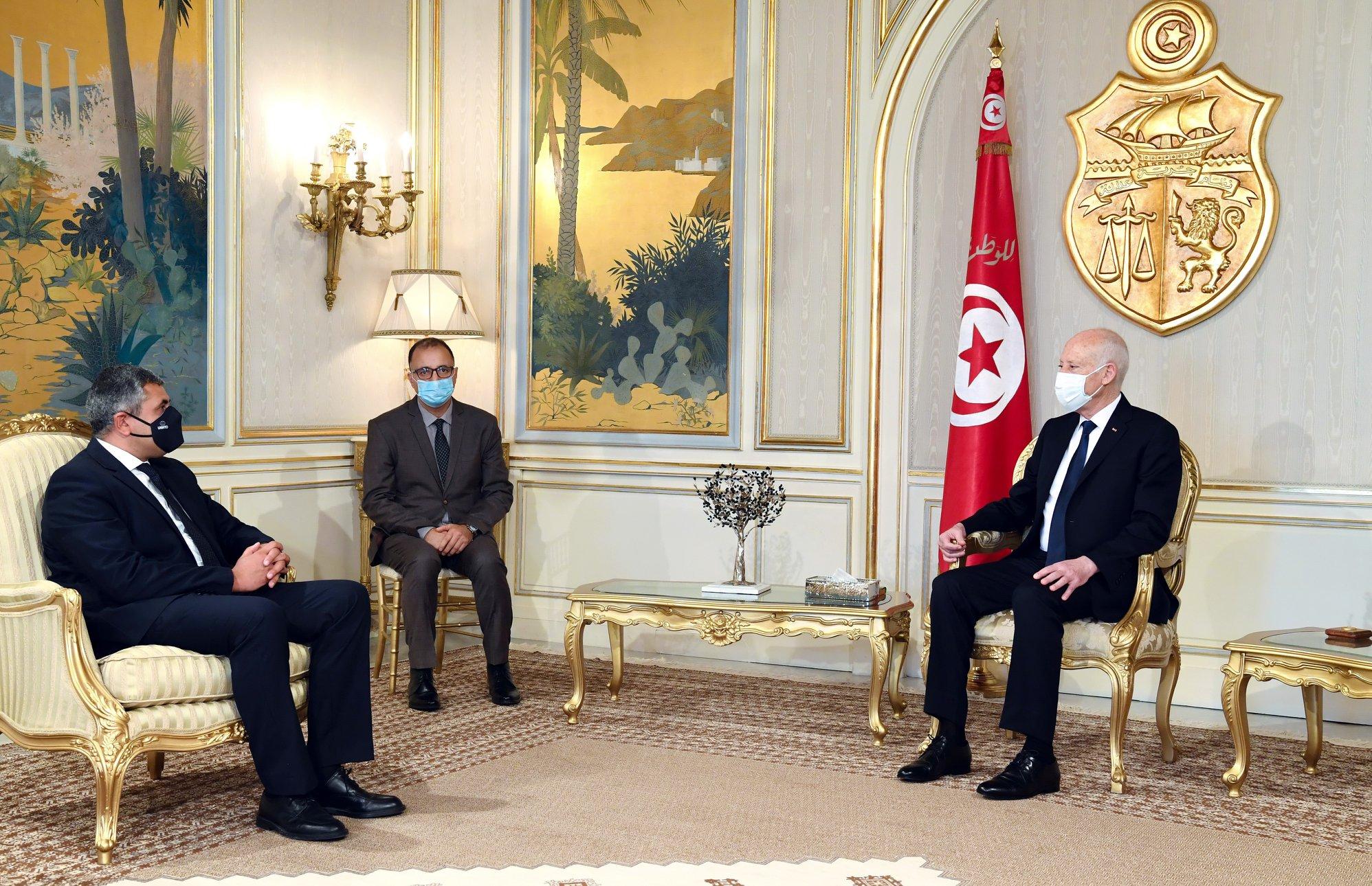 UNWTO Secretary-General confers with Tunisian Leader