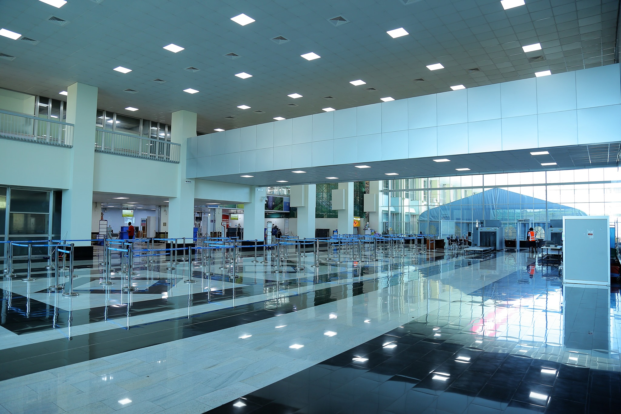 Uganda: New airport terminal extension opens to passengers