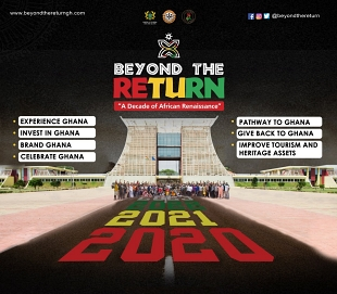 Beyond the Return events' calendar unveiled for Nov and Dec in Ghana