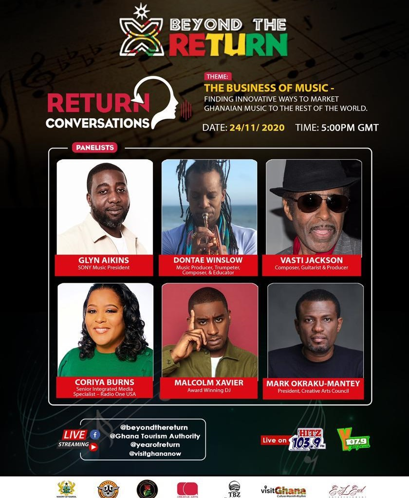 Beyond the Return' to hold masterclass on 'The Business of Music'