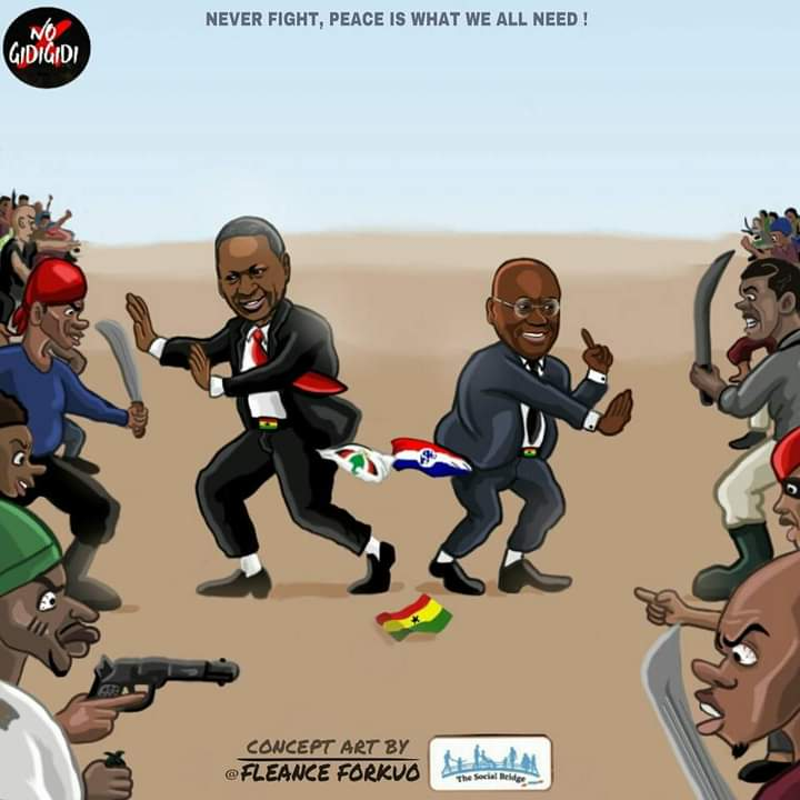 Elections2020: Over and above all, it is Ghana first